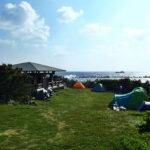 八丈島キャンプ2日目。行き当たりばったりでキャンプ堪能