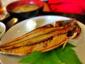 鯖の干物定食も美味しそう