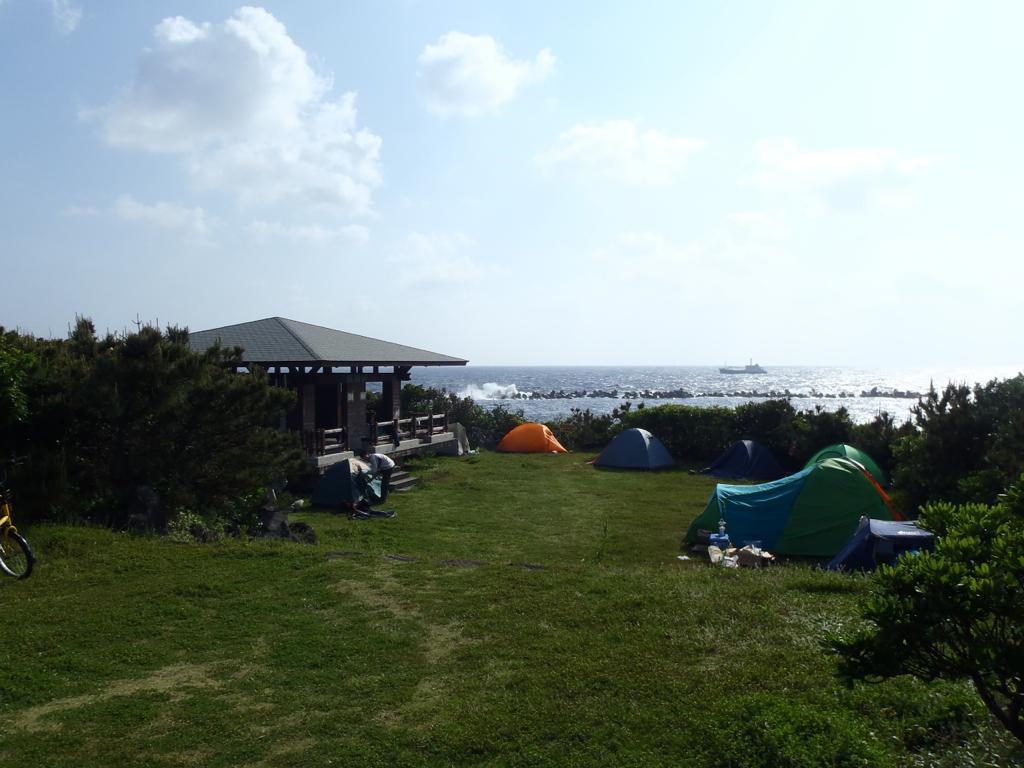 八丈島キャンプ場