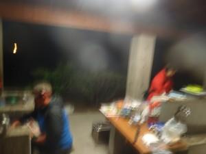 八丈島キャンプご飯