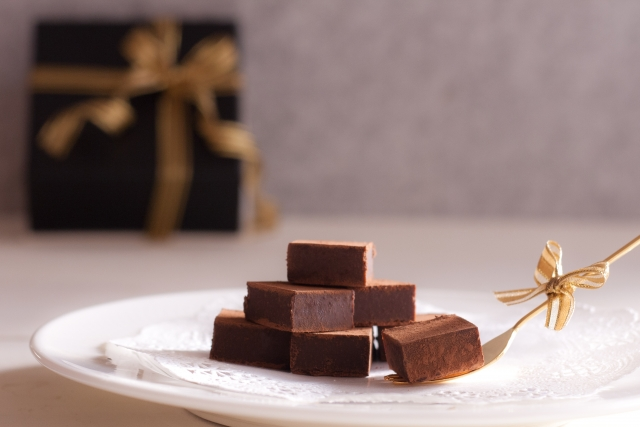 甘過ぎず適度な量の大人のチョコレートを
