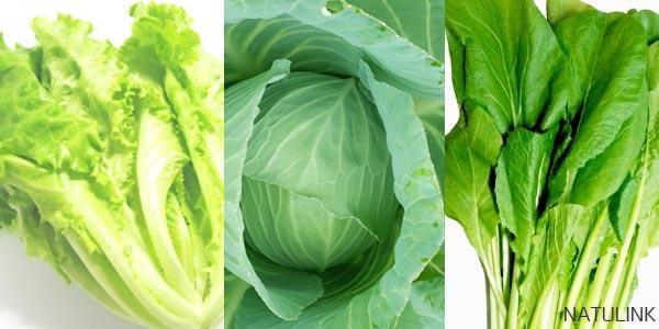 葉野菜は積極的に摂ろう