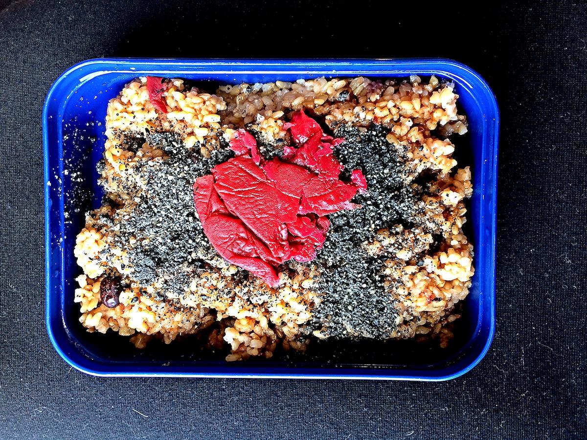 酵素玄米ダイエット中のお弁当