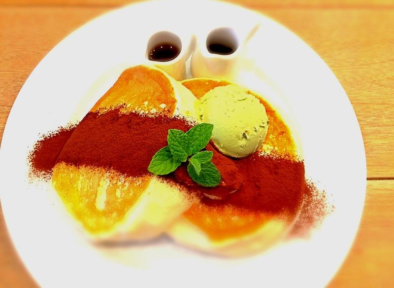 バンクス渋谷のティラミスパンケーキ