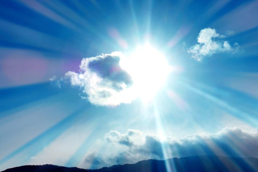 紫外線も標高が上がると強くなります