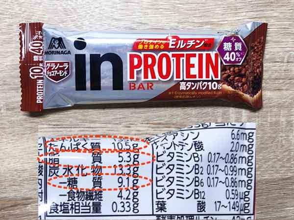 高タンパク低糖質低脂質おやつ